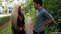 German Teen - Auf der Strasse von User erkannt und direkt gefickt pornhub video
