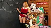 (Mrs Clauss Little) Helper loves to lick milf pussy - Twistys - Download mp4 XXX porn videos