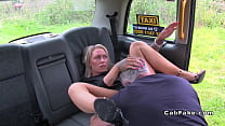 Blue eyed blonde rimming fake cab driver pornhub video