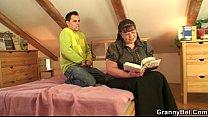 He picks up busty bookworm woman video