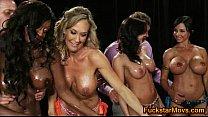 Screenshot 4 Big Tits Babes Start An Orgy