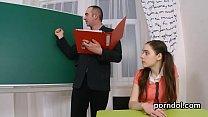 Sultry schoolgirl is seduced and nailed by her elder lecturer Vorschaubild