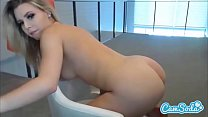 Aubrey Sinclair sexy teen masturbating with new...