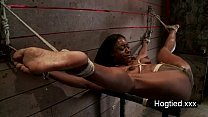black woman bondage