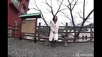 ドM人妻キミさん32歳!羞恥不倫旅行!『1日目』①野外とびっこ! thumbnail