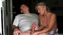 ov40-Mature couple handjob porn image