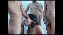 Teen fucking foursome [웹캠 그룹섹스 webcam group]