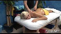 Pleased ending massage video