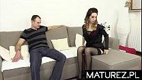 Polskie mamuśki - Mamuśka w seksownej bieliźnie
