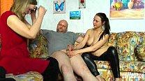 Shameless german cuties sharing cock Vorschaubild