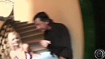 Girl im Hausflur zu zweit Flachgelegt ....... Titus Steel & Diether v Stein Vorschaubild