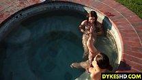 Pretty Teen Is Drowning In Les Twat pornhub video