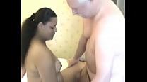 Old man licks and fucks a busty BBW-www.yourubb.com صورة