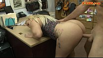 Bubblt butt woman fucked by pawn man