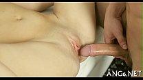 Luscious slit tasting thumb