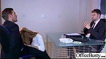 (Stacey Saran) Round Big Boobs Office Girl Love Hardcore Sex clip-26 صورة