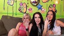 Live Lesbian Threesome Action thumbnail