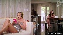 BLACKED Hot Blonde Secretly Fucks Her Roommate'...