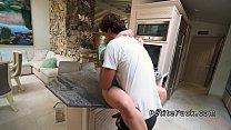 Nasty petite Asian banging with plumber