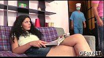Домашний секс муж трахоют жену с другом