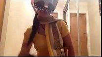 Indian hot babe masturbates.