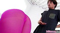 Twistys - (Tyler Nixon, AJ Applegate) starring at Sexy Yoga thumbnail