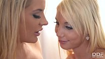 www.wap95.in ◦ Glamour Lesbians Kimber Delice & Maisie Rain Strap thumbnail