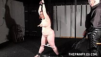 Private dungeon to tears of chubby amateur slaveslut Nimue Allen