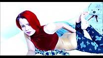 Redhead Teen Has Something Stuck Inside Her Pan... Thumbnail