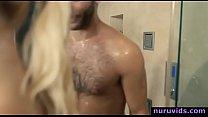 Hot blonde Summer Day sucking big cock » aimee spencer porn thumbnail