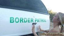 Broken teens creampie Amateur Threesome for Border Slut pornhub video