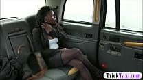 Hot ass amateur ebony gets twat screwed by frau...