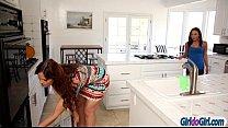 Amari Romani seduce her stepmom Syren Demer into lesbian sex's Thumb