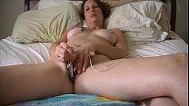 Jenna Sin solo masturbation with a bullet