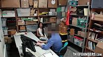 Corrupt Officer Bangs Shoplifters Maya Bijou & Bonnie Grey