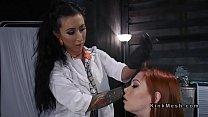 Tattooed Female  Doctor Anal Fucks Lesbo Babes cks Lesbo Babes