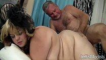 Screenshot Pretty plump er Buxom Bella enjoys a fat cock