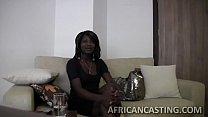 femdom cei - Monster cock filling black pussy thumbnail