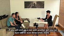Dude bangs girlfriend in casting interview pornhub video