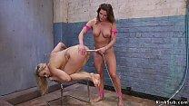 Blonde takes enema and anal dildos pornhub video