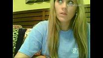 amateur girl play on webcam  (4)
