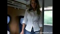 Milf Sucks And Fucks On The Train pornhub video