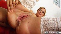 All Internal Pussy fucked mercilessly, Jennifer oozes cum porn image