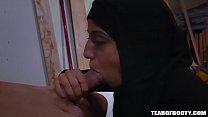 5997 Arab teen sucks and fucks cock preview
