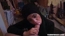 15496 Arab teen sucks and fucks cock preview