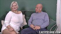 LACEYSTARR - Busty GILF negotiates a good pussy...
