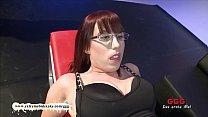 Nerdy girl loves cum on her glasses pornhub video