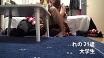 XVIDEO ハロウィンでナンパしたお姉さんとセックスを隠し撮り