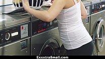 ExxxtraSmall - Petite Teen Fucked in Laundromat />                             <span class=