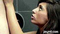 Lesbian Joymii Zoe And Reena Bathroom Stories